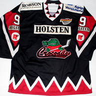 Hamburg Crocodiles Game Worn Jersey Jason Dunham Front