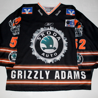 Game Worn Jersey Wolfsburg Grizzly Adams Tony Voce Front