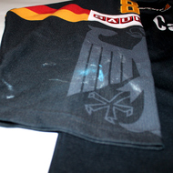 Germany Game Worn Jersey David Wolf Black Wear
