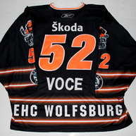 Game Worn Jersey Wolfsburg Grizzly Adams Tony Voce Back