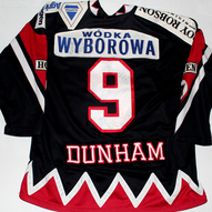 Hamburg Crocodiles Game Worn Jersey Jason Dunham Back