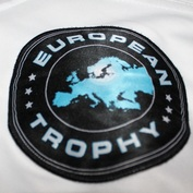Gameworn Hamburg Freezers European Trophy David Wolf Patch