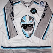 Gameworn Hamburg Freezers European Trophy David Wolf Front